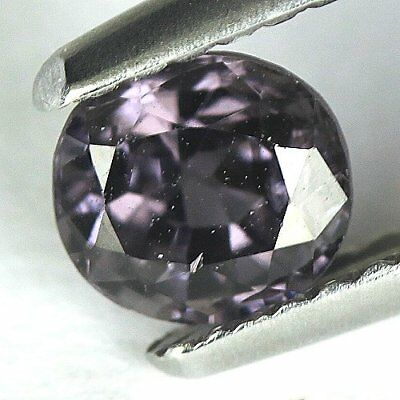 0.83 cts.5.5 x 5 mm. UNHEATED NATURAL VIOLET SPINEL OVAL BURMA