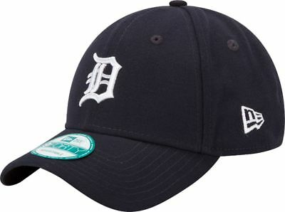 New Era 9FORTY MLB Detroit Tigers Navy Blue The League Curved Peak Strapback Cap