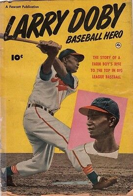 Larry Doby Baseball Hero 1 Strict 1950 FR/GD 1.5 Low-Grade Larry Doby listed now