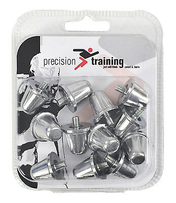 New Precision Training Alloy Rugby Union Flat Rubber Boots Screw In Studs 15mm