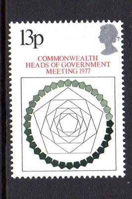 1977 GB COMMONWEALTH HEADS OF GOVERNMENT SG 1038 MNH Stamp Set Unmounted Mint