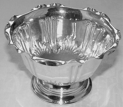 Victorian Highly Ornate Bowl Silver Plated by George Bowne & Sons Circa 1880
