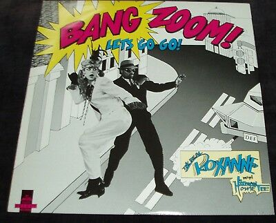 The Real Roxanne with HItman Howie Tee - Let's Go-Go    UK 12""