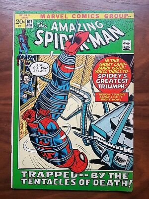 Marvel comics Amazing Spiderman 107 nice condition