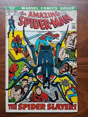 Marvel comics Amazing Spiderman 105 nice condition