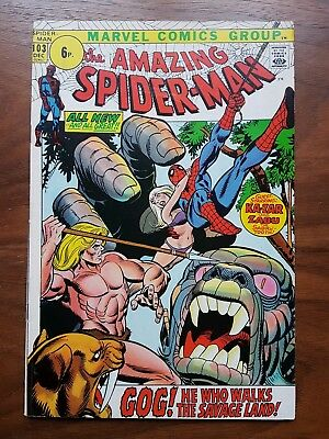 Marvel comics Amazing Spiderman 103 nice condition