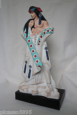 Austin Sculpture David Fisher Native American Family Indian Mother Father Statue