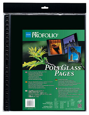 Itoya PR-16-20 Art Profolio Polyglass Pages Portrait Vertical 16x20in. Art Size