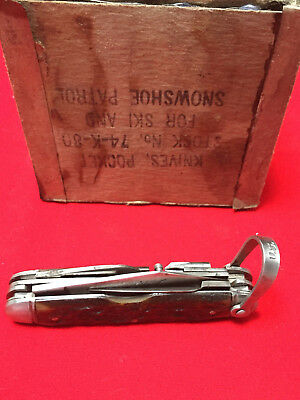 """ULSTER Pocket Knife - 10th Mountain Division """" Devil Brigade"""""""