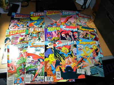 Daring Adventures of Supergirl 1982-84 DC Comic Book Lot 15 Issues EF