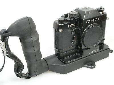 CONTAX YASHICA REPORTER GRIP für for RTS / RTS II mit REALTIME WINDER