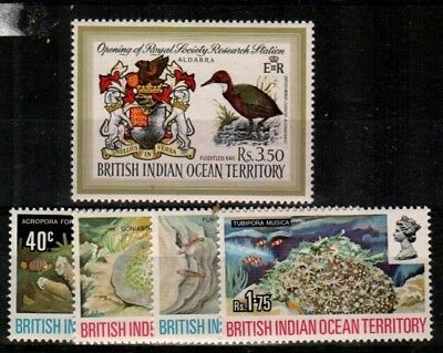 British Indian Ocean Territory Scott 43-7 Mint NH (Catalog Value $34.50)