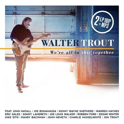 Walter Trout - Were All In This Together (2LP 180G.Gatefold+MP3) Vinyl LP ( NEW