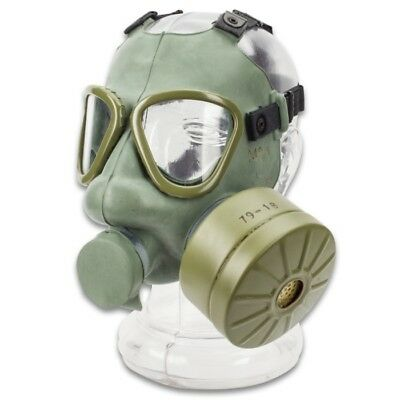 Serbian Gas Mask Full Face Adult w/60MM NBC + Teargas Filter & 40MM Adaptor
