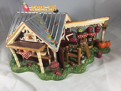 Department 56 Harvest Apple Orchard House Retired with Box
