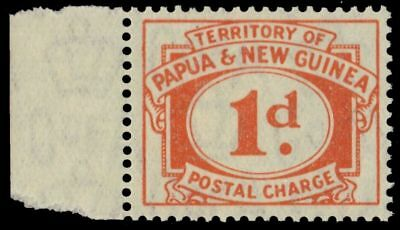 """PAPUA NEW GUINEA J7 (SG D7) - Numeral of Value """"Postage Due"""" (pf29408)"""