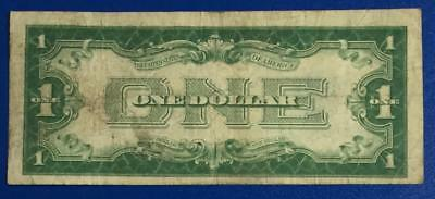 """1928A $1 Blue """"FUNNY BACK"""" SILVER Certificate VG! Old US Currency"""