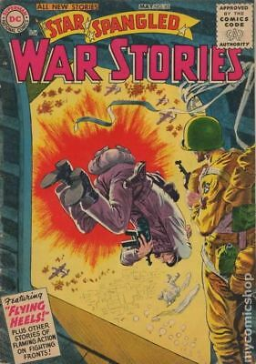 Star Spangled War Stories (DC) #3 to 204 #45 1956 GD+ 2.5