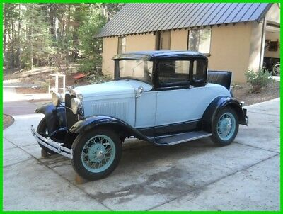 1930 Ford Model A 5 Window Coupe Original Stock 1930 Ford Model A 5 Window Coupe 4CYL/3SP Manual 28 32 34 35 36