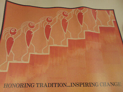 Poster White House Conference Indian Education January 1992 Native American Art