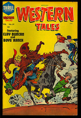 Witches Western Tales #29 Nice Pre-Code Simon & Kirby File Copy 1955 VG