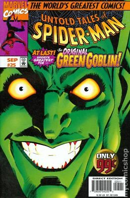 Untold Tales of Spider-Man #25 1997 VG Stock Image Low Grade