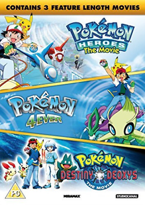 Pokemon : Triple Movie Collection  (UK IMPORT)  DVD NEW