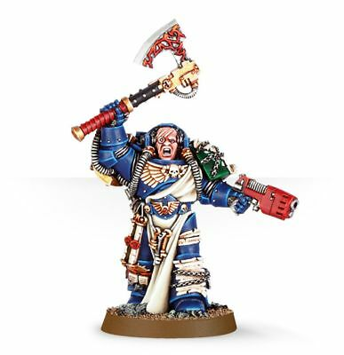 Librarian with Force Axe & Plasma Pistol Finecast - New & on Sprue 40K