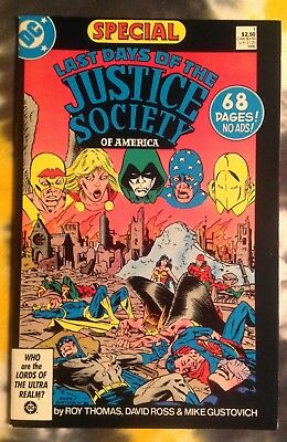 DC Special #1 LAST DAYS OF THE JUSTICE SOCIETY OF AMERICA