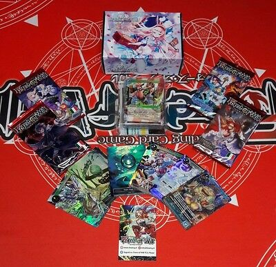 FOW FORCE OF WILL Bundle 2 Decks + 4 Packs + Promo Cards ITA