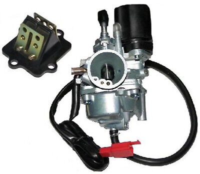 Fuel Supply RACING CARBURETTOR REED VALVE ASSY COMPLETE compatible with MOTOWELL MAGNET 50