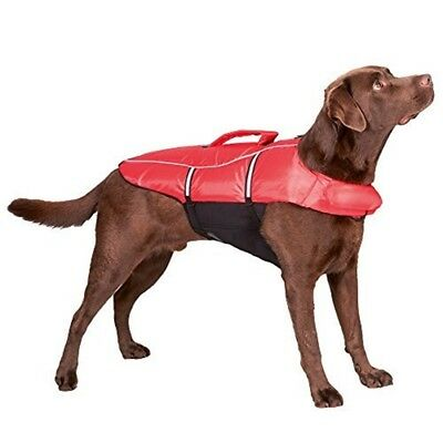 Trixie 30145 Swim Vest For Dogs XL 65cm / Max. 45kg Red / Black - 65cm Maxkg
