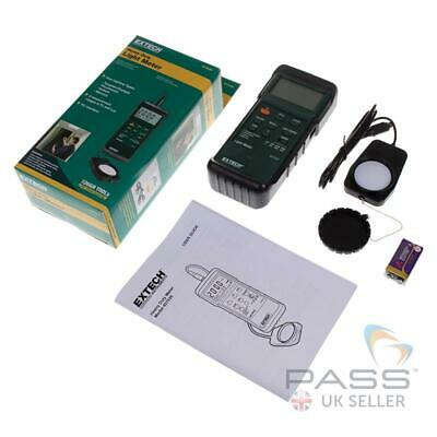 *NEW* Extech 407026 Heavy Duty Light Meter with PC Interface / UK Stock
