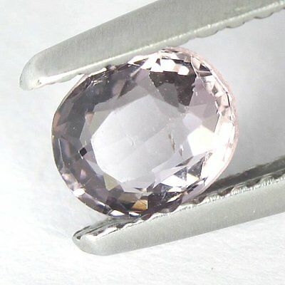 0.60 cts.5.7 x 4.9 mm. UNHEATED NATURAL VIOLET SPINEL OVAL BURMA