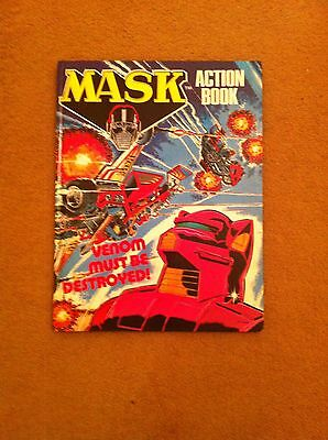 MASK ACTION BOOK Annual - Date 1988 - UK Fleetway Annual