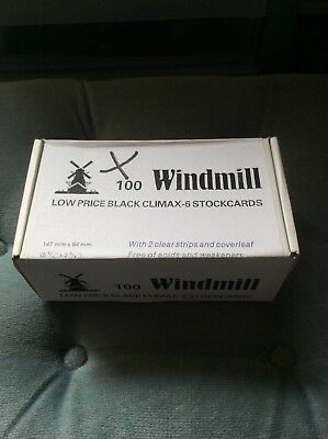 Windmill Climax 88 Stock Cards In Box