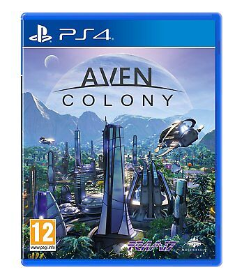 Aven Colony PS4 - Game for Sony PlayStation 4 BRAND NEW UK SELLER