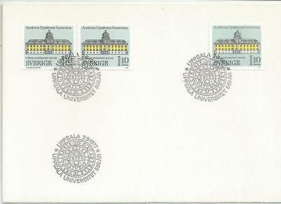 SWEDEN - 1977 The University of Uppsala     - FIRST DAY COVER
