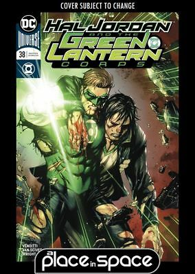 Hal Jordan And The Green Lantern Corps #38B - Kirkham Variant (Wk07)