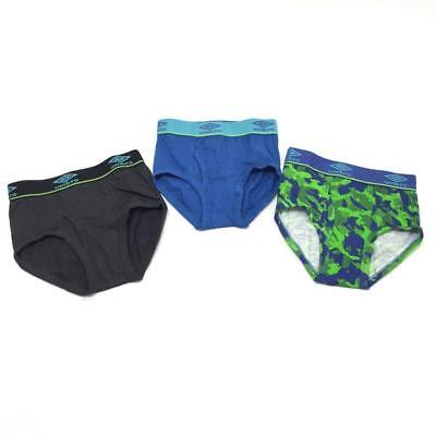 Umbro 3-Pack Boys Classic Briefs MRSP $29.00
