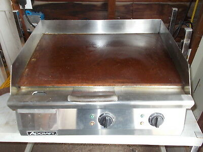 "ADCRAFT GRID-24 NSF Countertop 24"" Electric Griddle Lightly Used"
