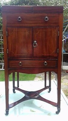 Early  Gentlemans campaign Wash Cabinet/Stand.