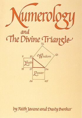 Numerology and the Divine Triangle (Paperback), Bunker, Dusty, Ja...