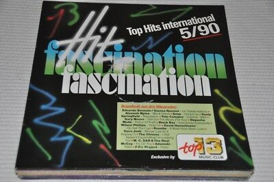 VA Sampler - Top 13 Music Club - Hit Fascination 5/1990 - 90s - Album Vinyl LP