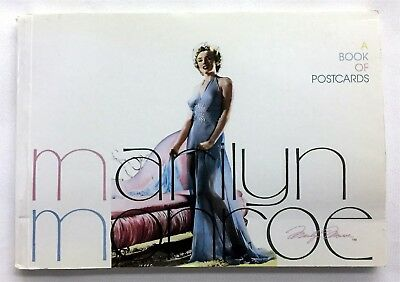 1990 Marilyn Monroe Post Card Book Set 30 Post Cards Intact