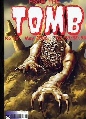 From The Tomb 19 May 2006 And 20 Halloween 2006 Horror Comics Fanzines Jack Cole