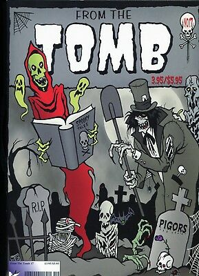 From The Tomb 17 Halloween 2005 And 18 Christmas 2005 Horror Comics Fanzines