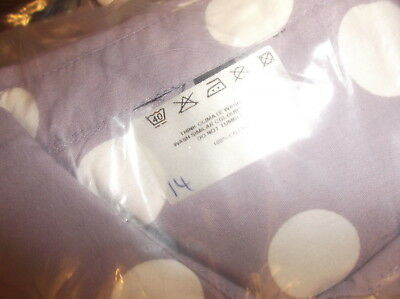 WHOLESALE JOBLOT Ex Topshop Polka Dot Cropped Tops in Lilac x 12