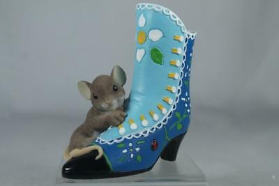 Charming Tails 'A Beautiful Sole Is Always In Fashion' Shoe #4025770 New In Box
