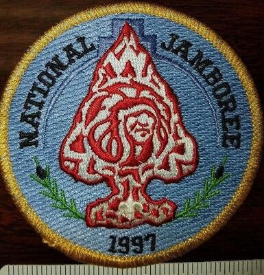 1997 National Scout Jamboree OA Order of the Arrow Rendezvous pocket patch BSA